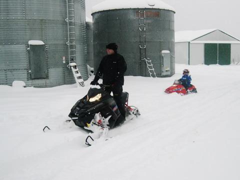 Snowmobile Memories