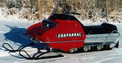 Max Sled Vintage 1971 Chaparral 634 Firebird Maxsled