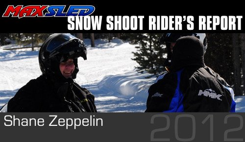 Snow Shoot Riders Report