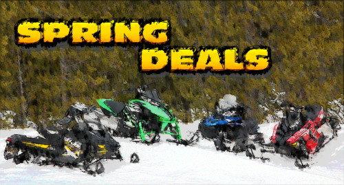 2012 Spring Snowmobile Deals
