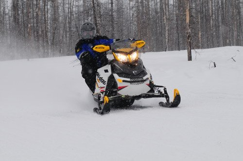 2012 Ski-Doo MX Z X with rMotion rear suspension.