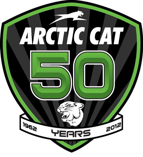 Arctic Cat 50th Anniversary Logo