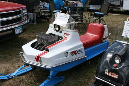Vintage Polaris Snowmobile