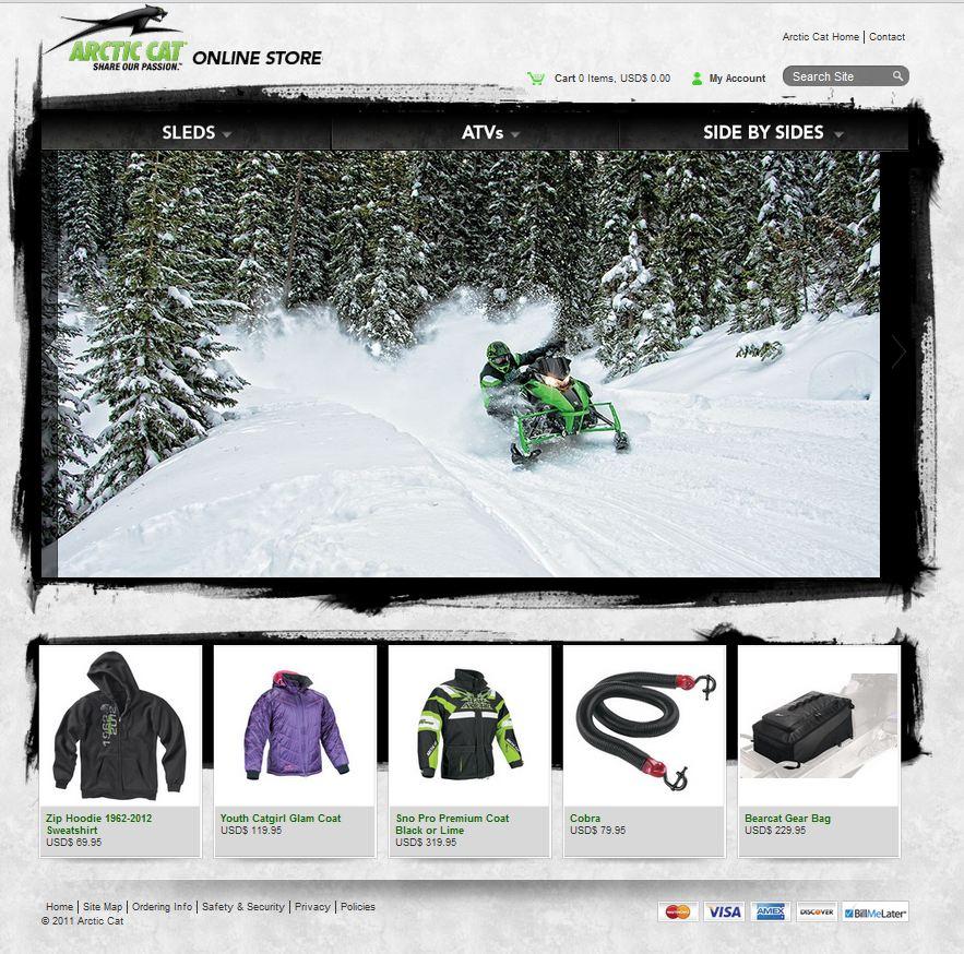Arctic Cat Online Store