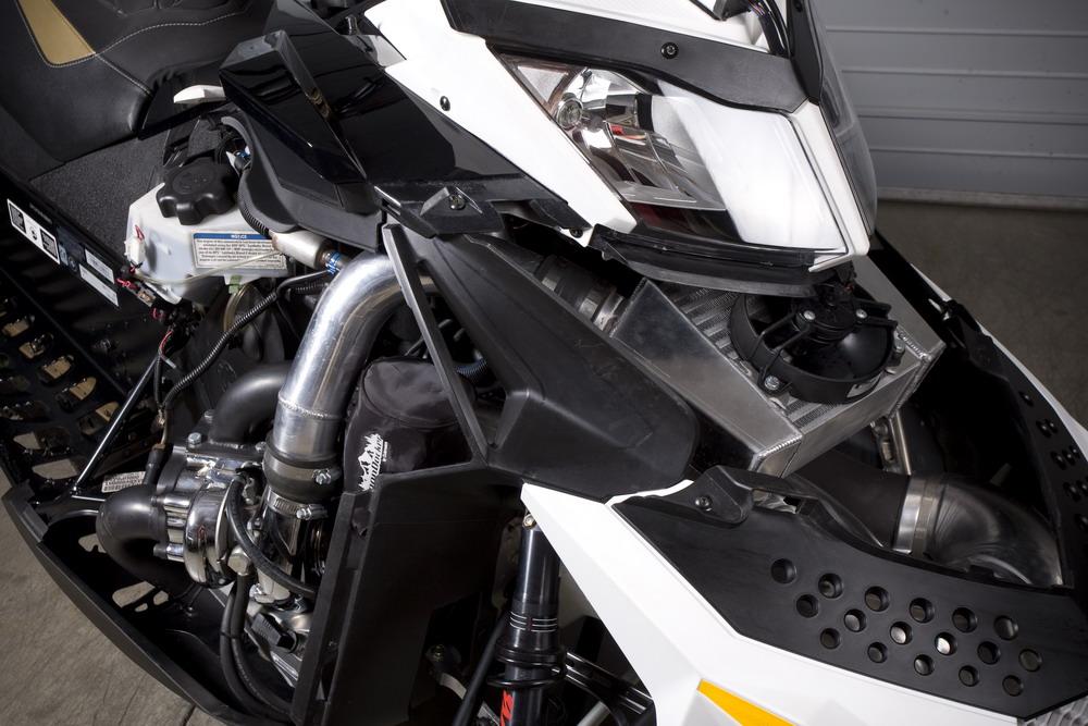 BoonDocker Releases Turbo Kit for Ski-Doo E-Tec 800 R - MaxSled com