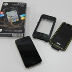 iPhone 4S and LifeProof case.