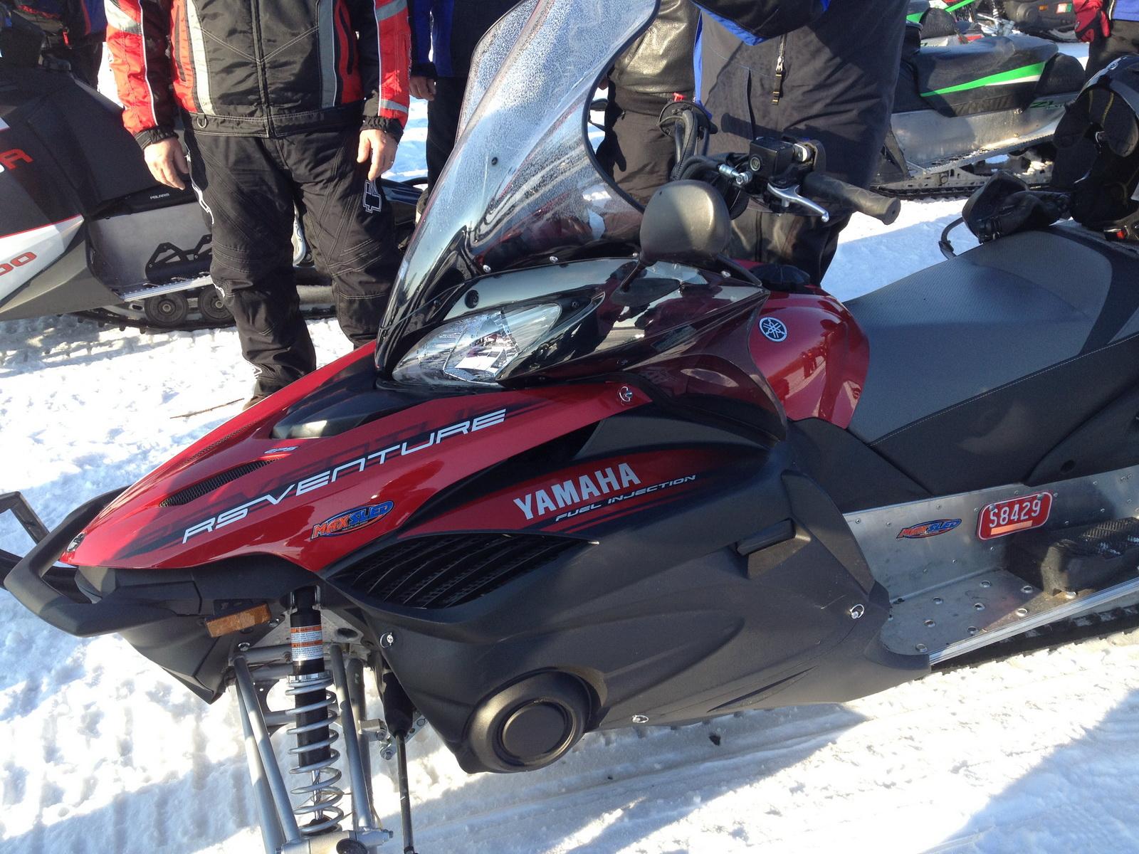 Maxsled Review  U2013 2012  2013  Yamaha Venture Gt