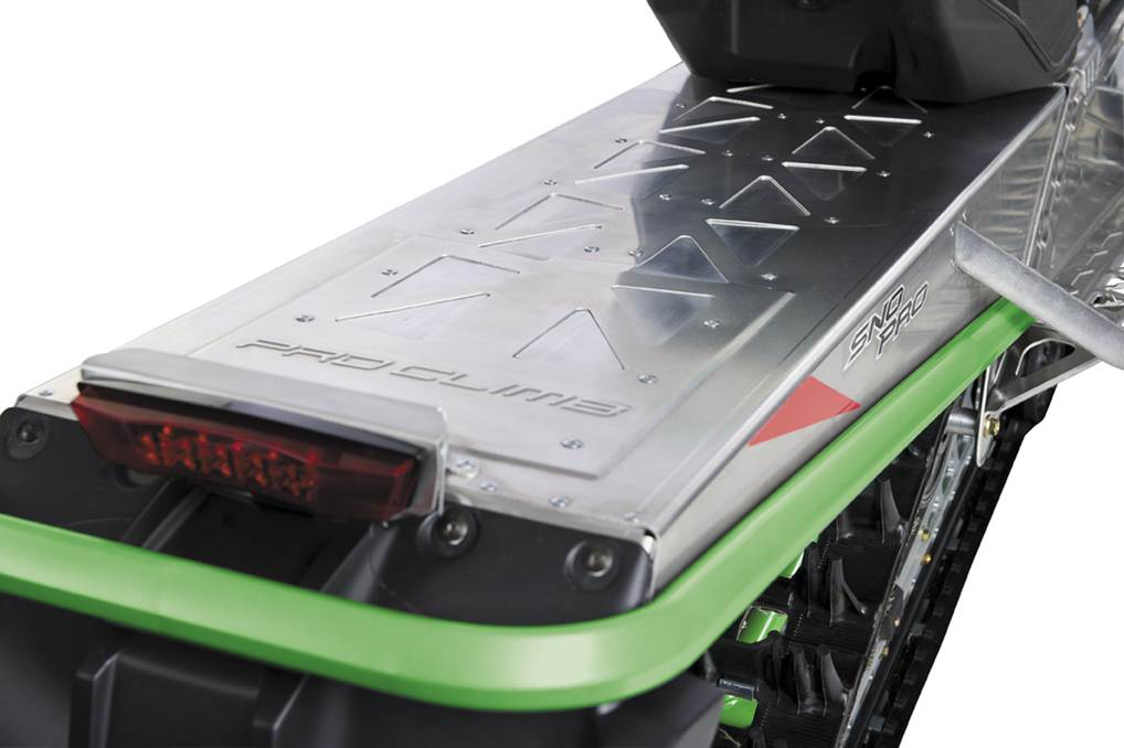 Arctic Cat Snowmobile >> Clean Rear Tunnel - MaxSled.com Snowmobile Magazine