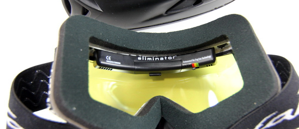 how to clean inside of ski goggles