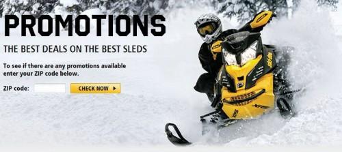 2014 Ski-Doo Promotion