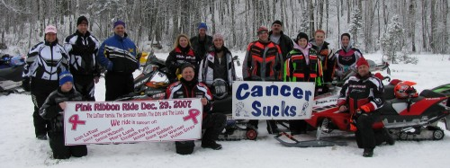 Pink Ribbon Ride from 2007.