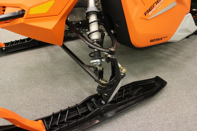 New geometry in the RAS 2 front suspension.
