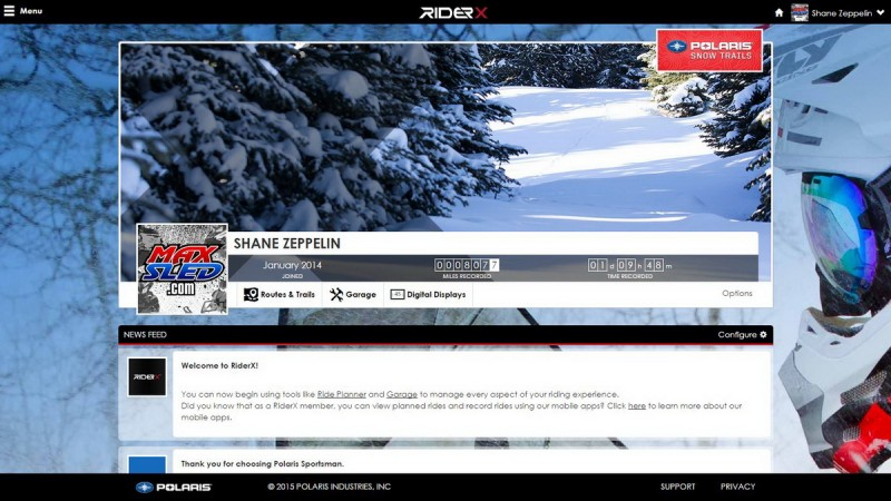 RiderX_Dashboard_screenshot