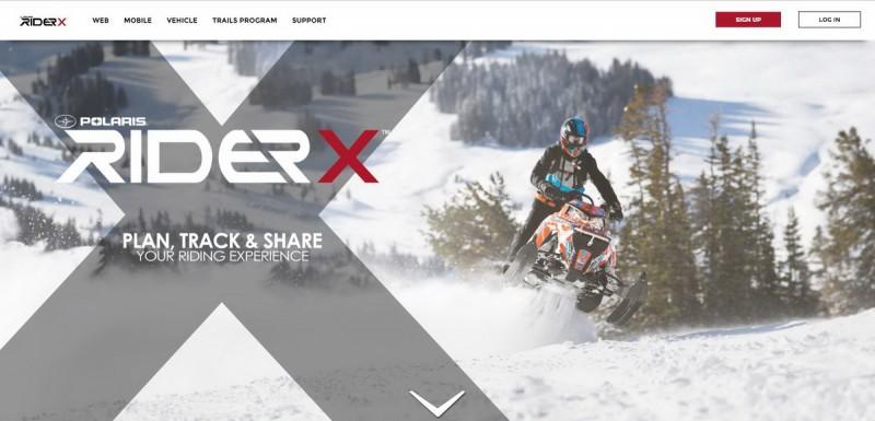 RiderX_Homepage_screenshot