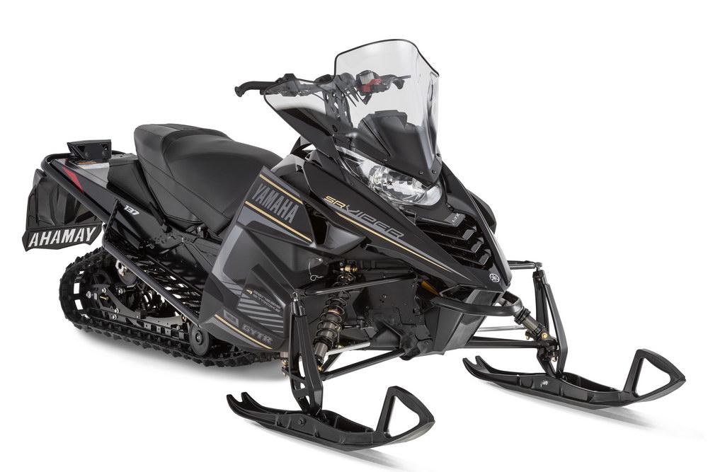 Black Yamaha Dx Snowmobile Dual Seat