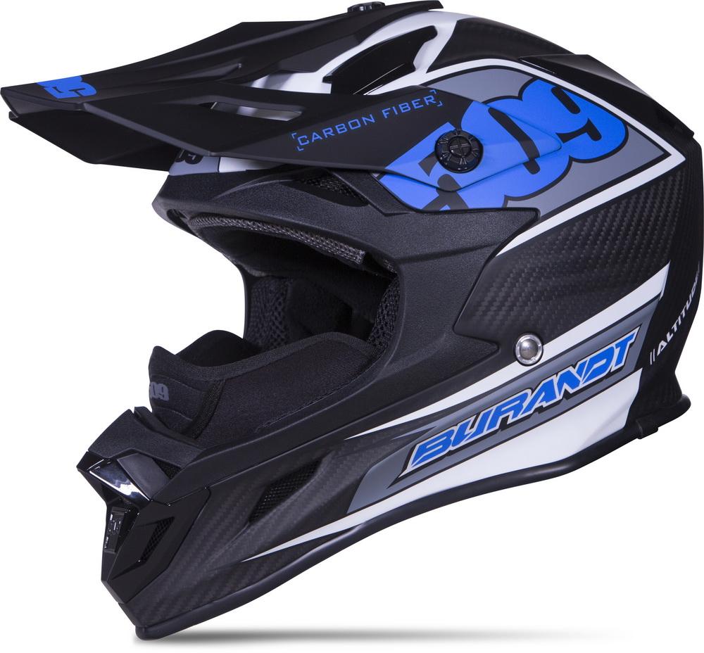 509 - Altitude Carbon Fiber Helmet - Chris Burandt (509-HEL-ACC) - Front
