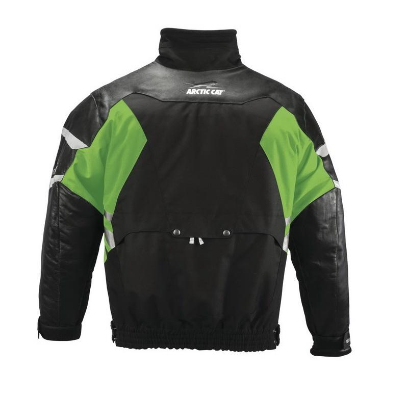 Arctic Cat Leather Tex Jacket - back