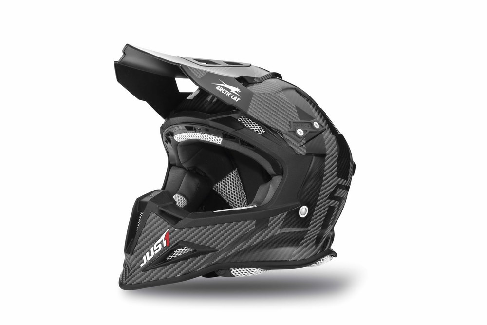 Arctic Cat MX Sno Cross Helmet - Black front