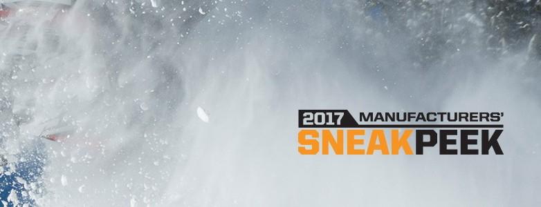 Model Year 2017 Snowmobile Sneak Peek Tour