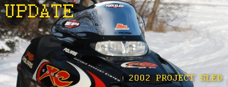 Project 600 XCSP – Updates to our 2002 Polaris