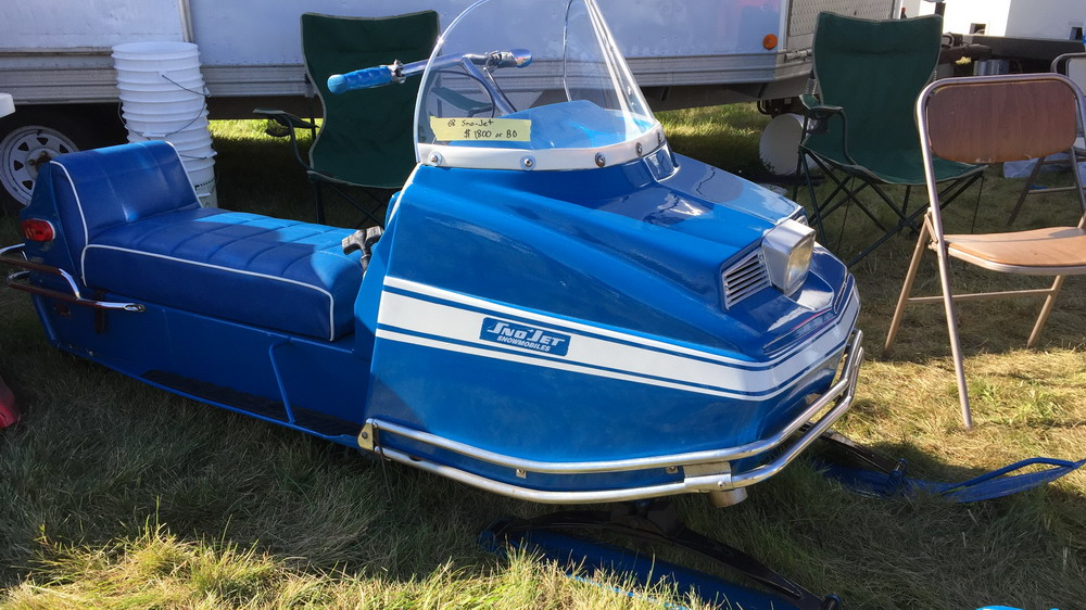 a very well restored 1968 Sno Jet