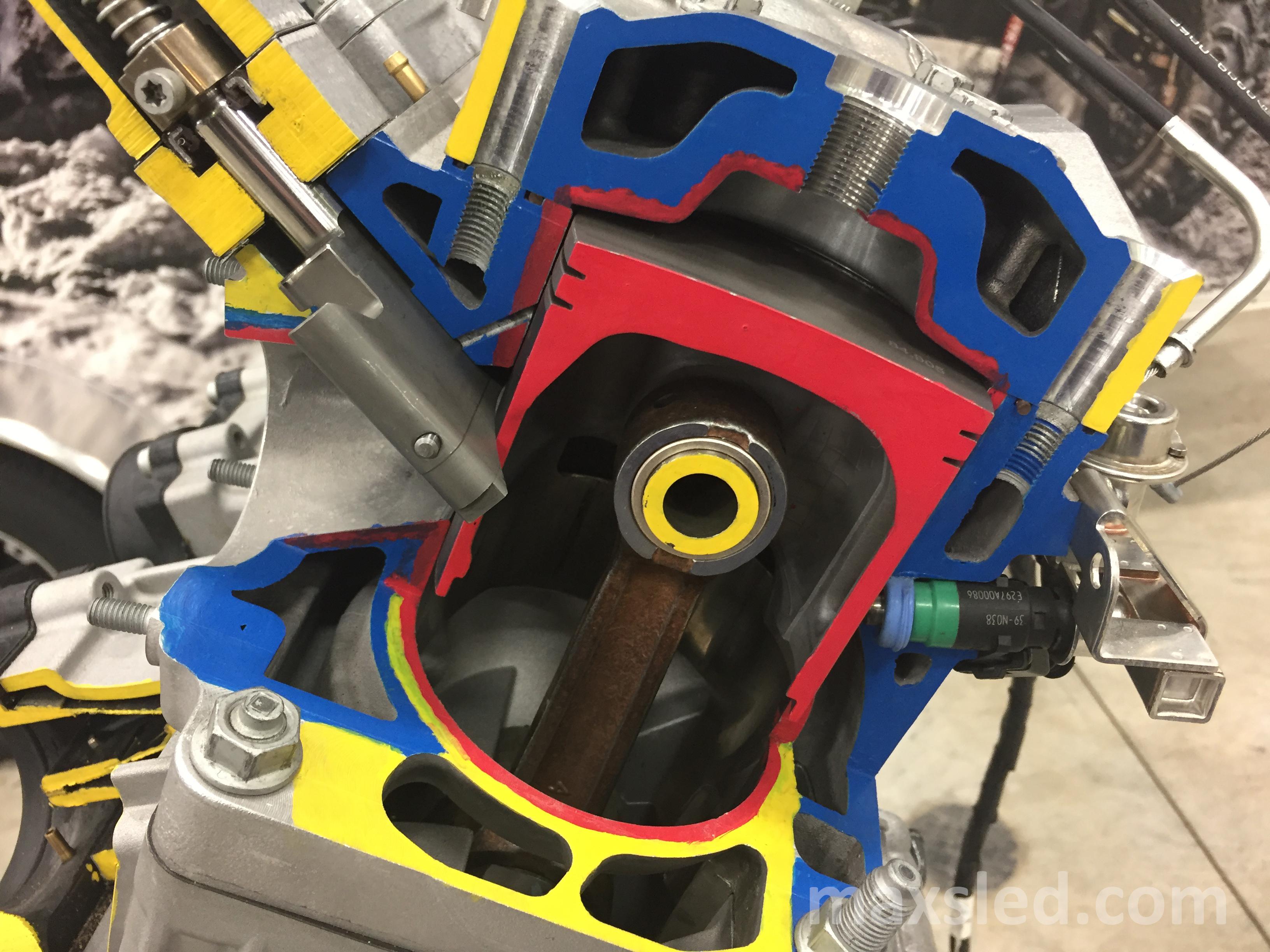 Arctic Cat Engine Into M Series