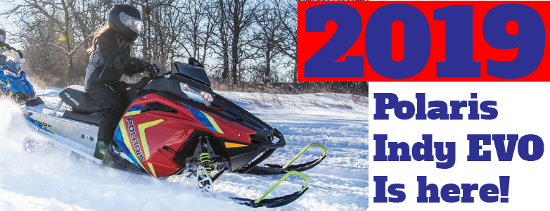Polaris launches 2019 Indy EVO!