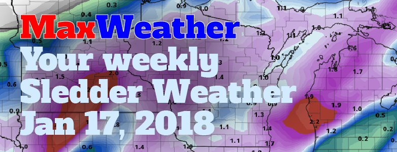 MaxWeather- your weekly sledder weather forecast